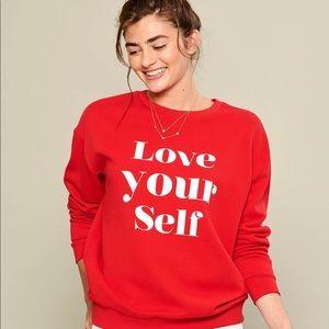 Red Love Sweatshirt